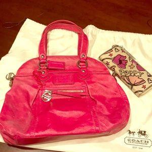 Coach Poppy Hobo bag & wallet